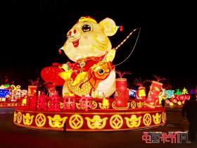 2016年第二十二届自贡国际恐龙灯会明年元月21日开幕